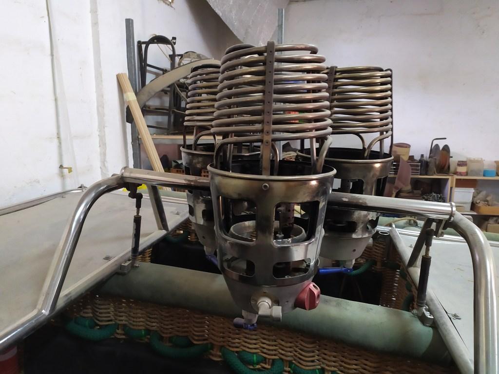 Ultramagic C11 basket with triple MK21 burners