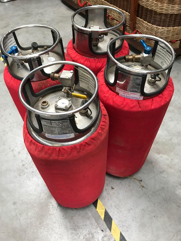 4x Ultramagic M20 cylinders