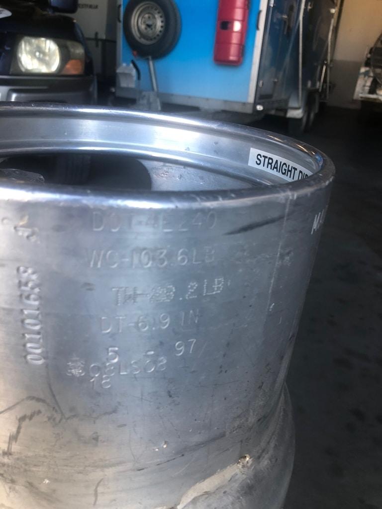 2x Worthington cylinder