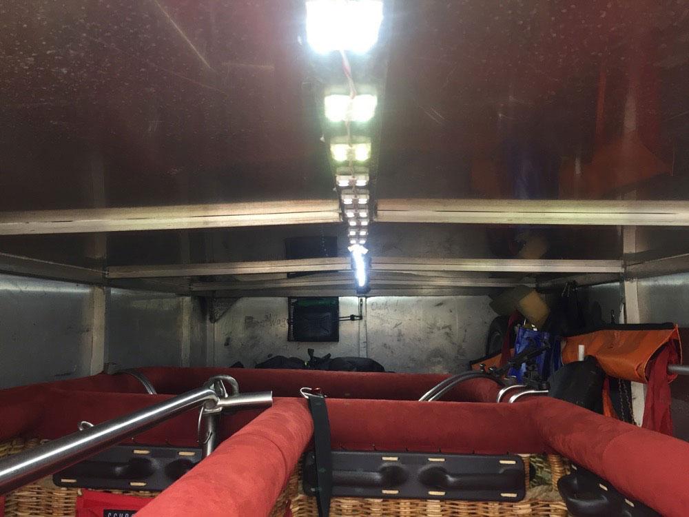 3.5m tandem axle Kufer trailer