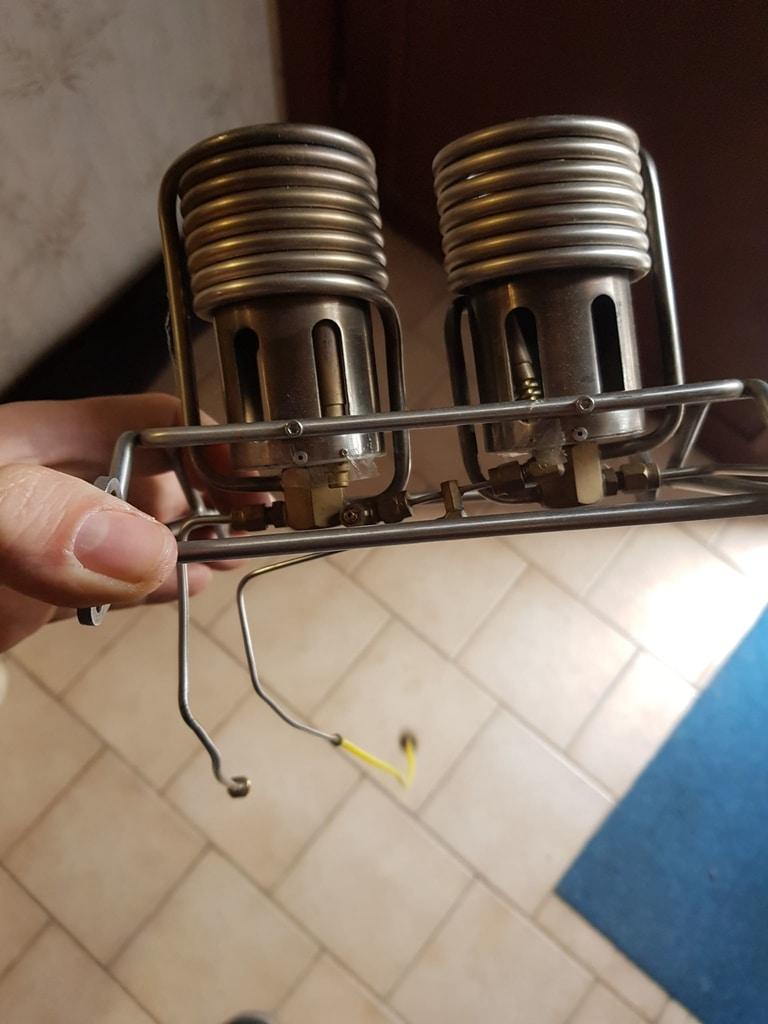 Boelling model balloon double burner
