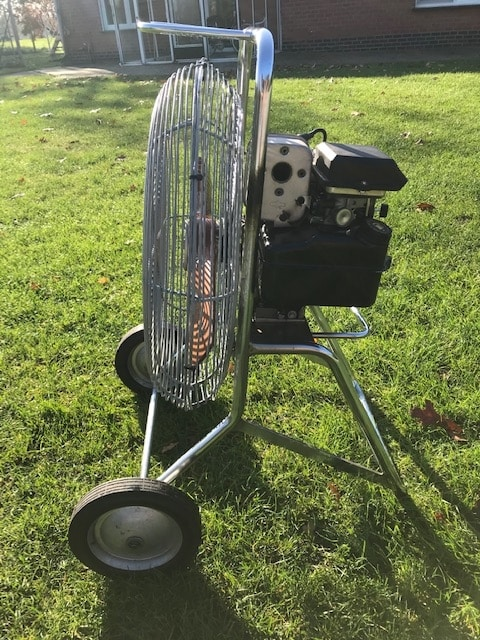 5.0 HP inflation fan