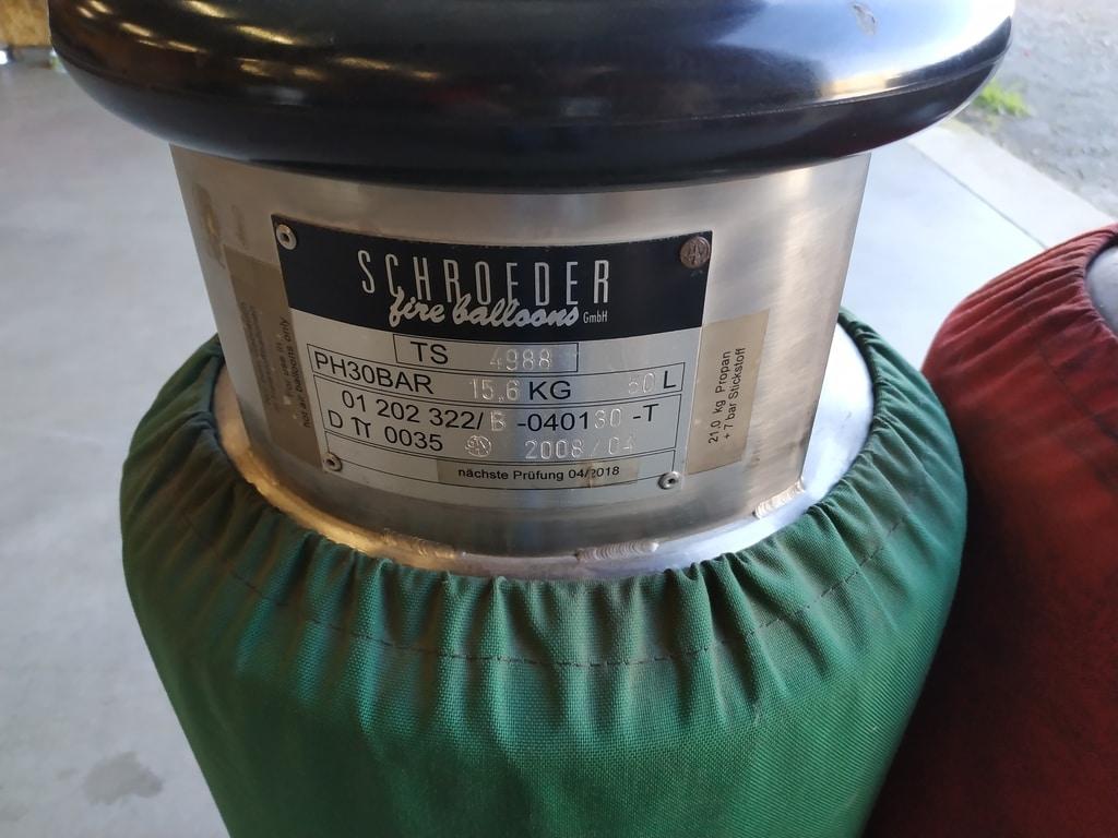 Schroeder VA50 cylinder