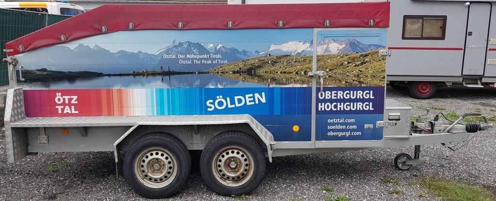 Kastner tandem axle trailer