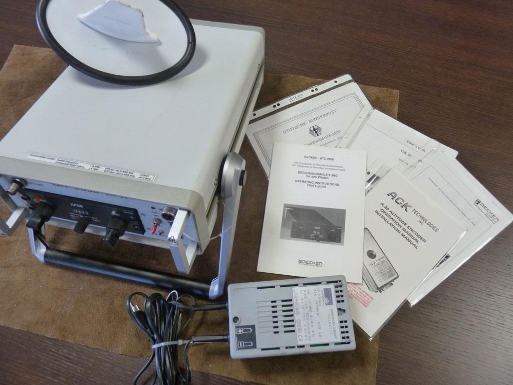 Becker ATC 2000 mode A/C transponder