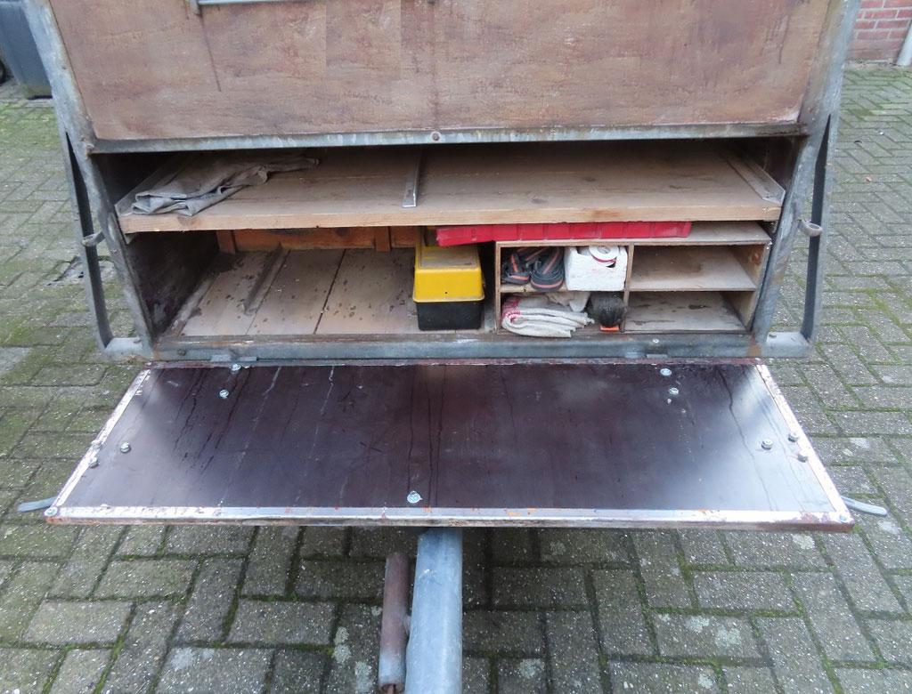 Schloegl 3.0m single axle trailer