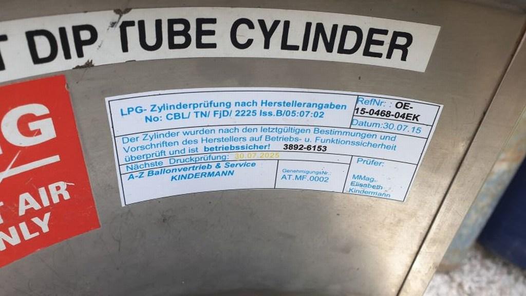 Schroeder VA70 cylinder