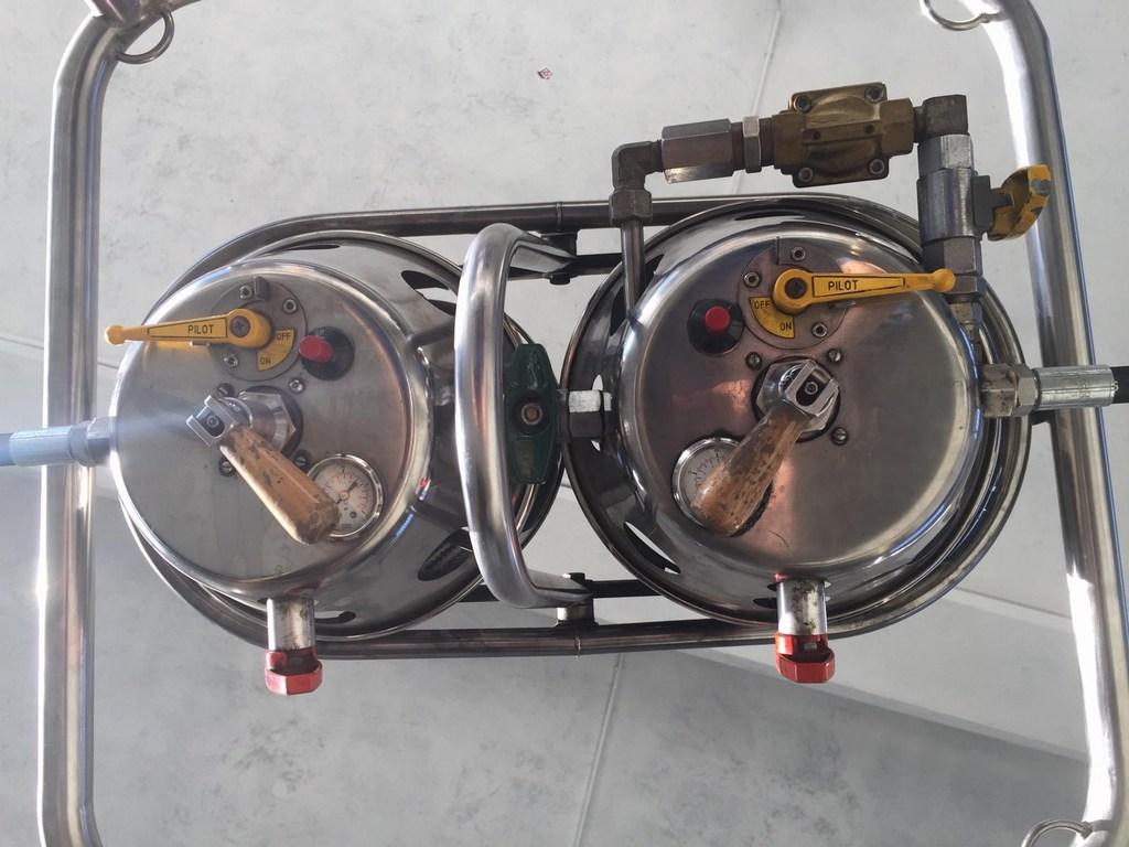 Thunder MK3 double burner