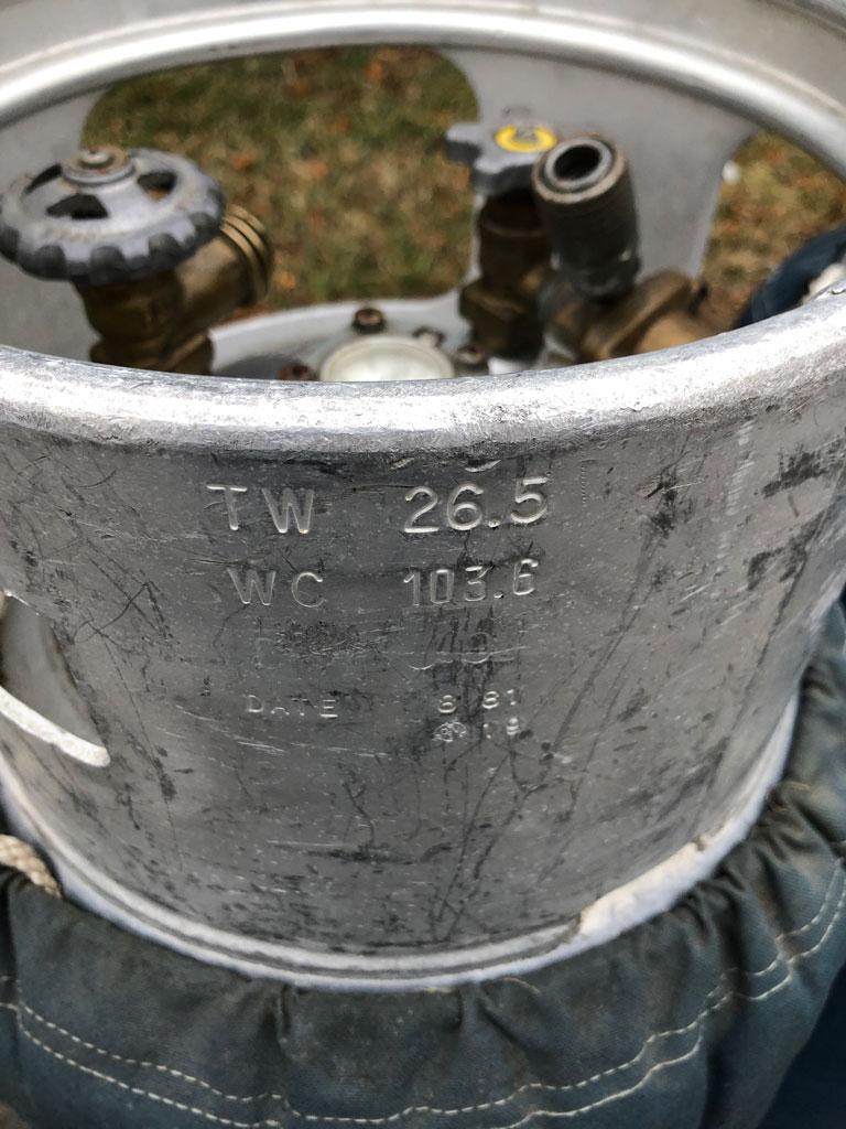 4x Worthington cylinder