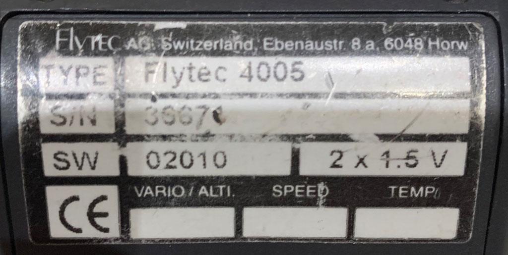 Flytec 4005