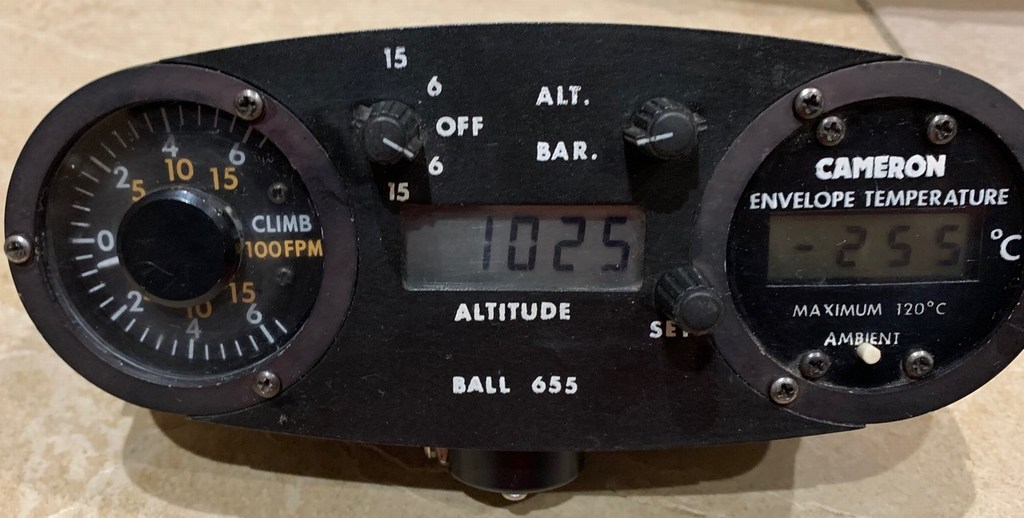 Ball 655 altimeter