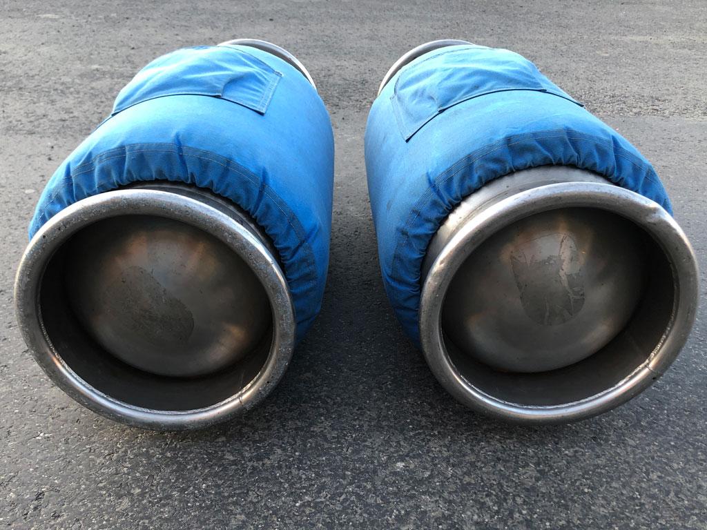 2x Cameron CB599 cylinder