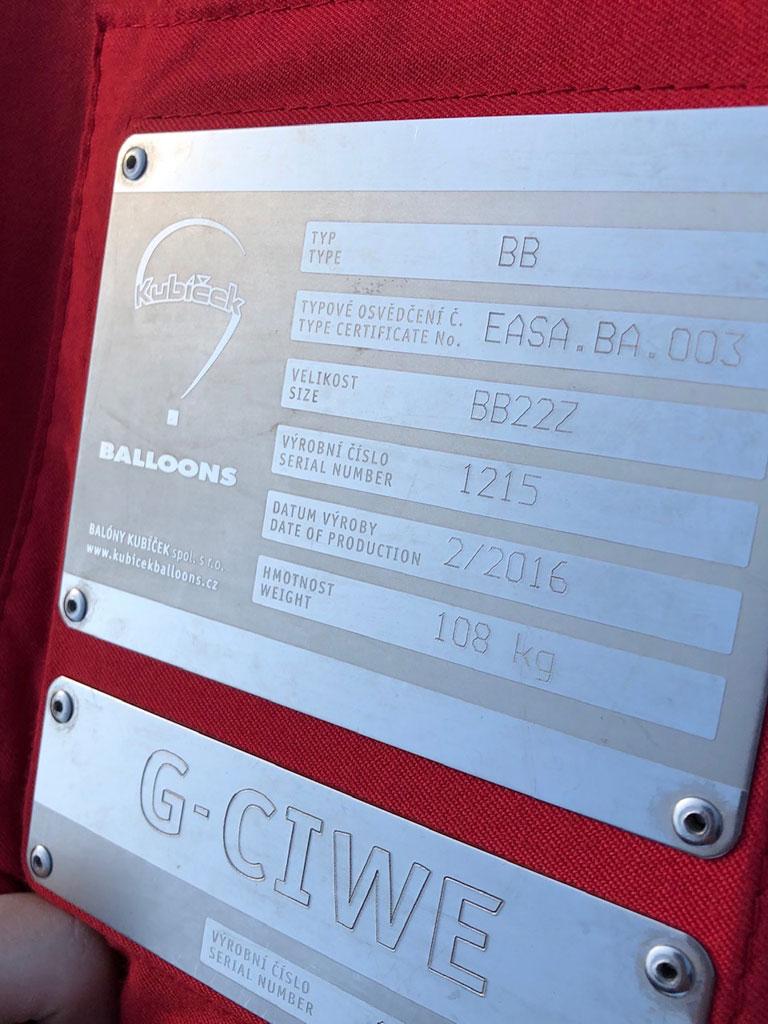 G-CIWE Kubicek BB22Z