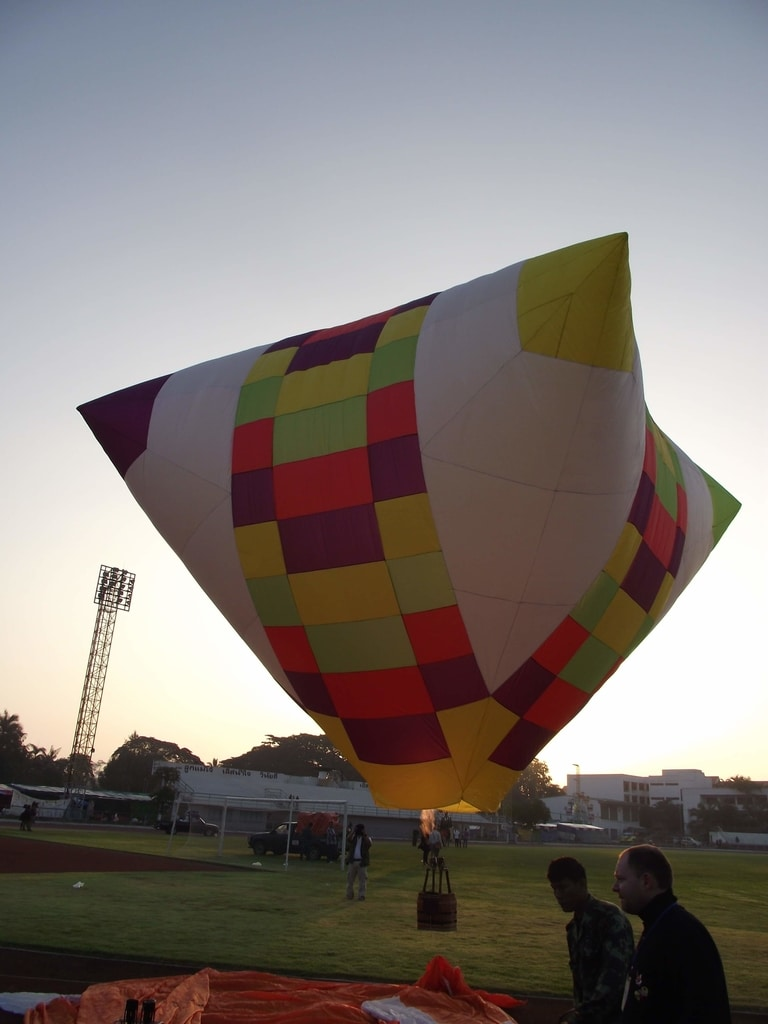 60m3 Special shape model balloon envelope