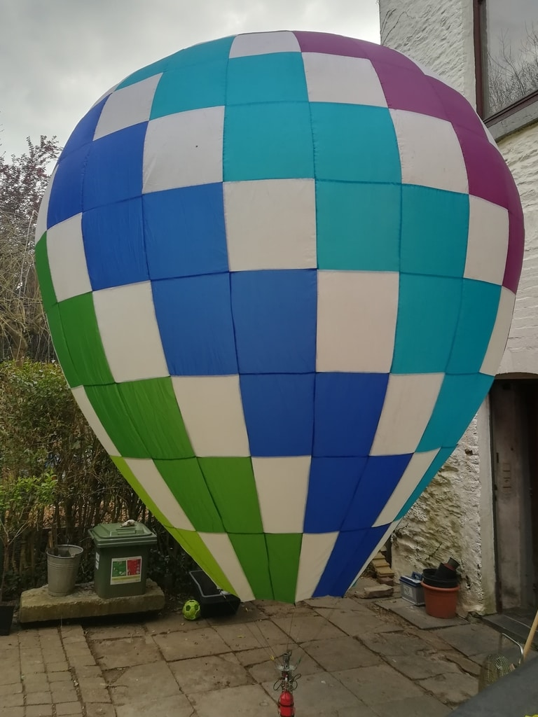 15m3 complete model balloon cloudhopper