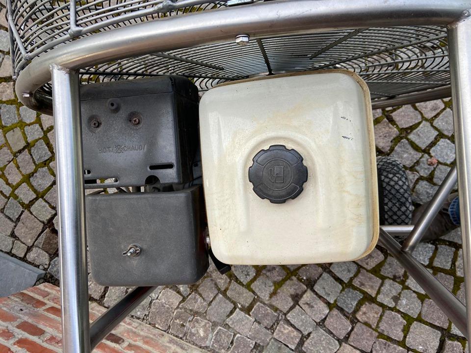 8.0 HP inflation fan