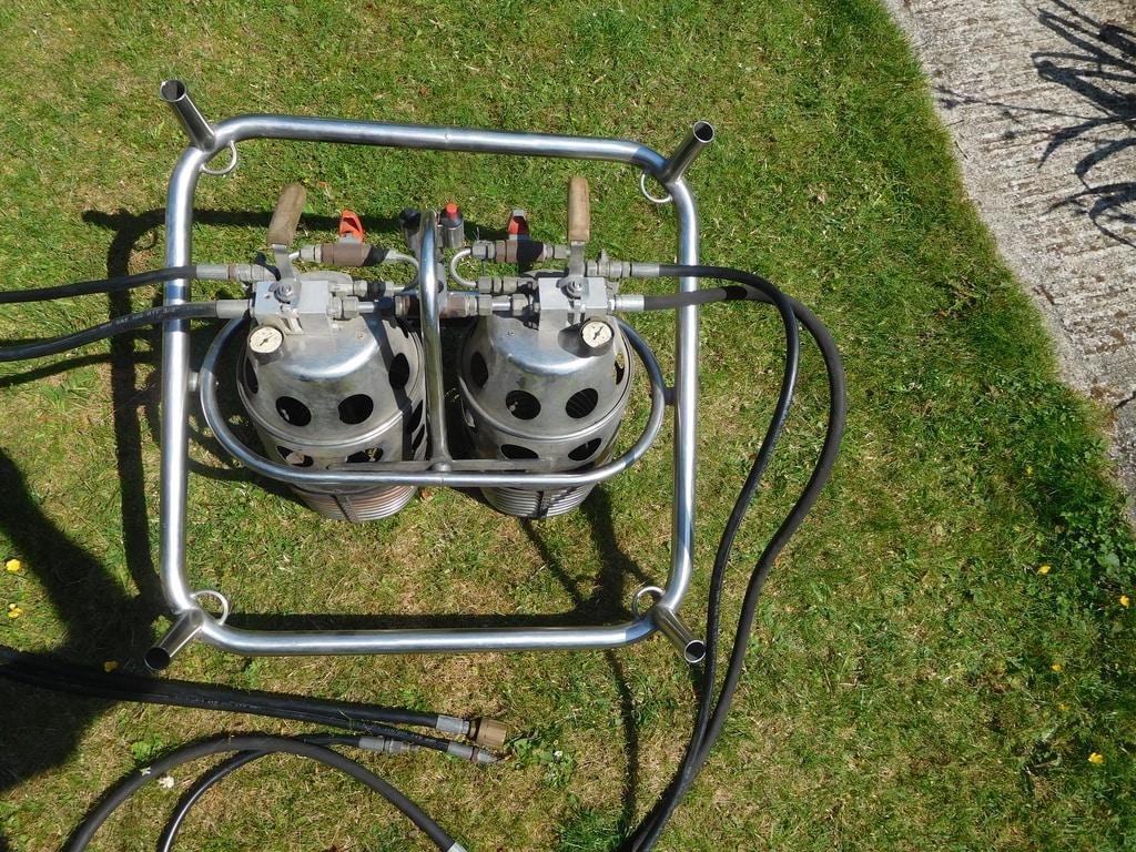 Thunder & Colt C2 double burner