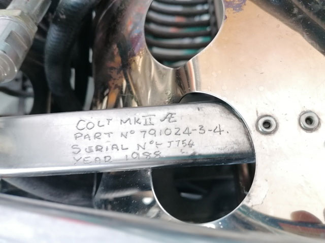 Colt MK II double burner