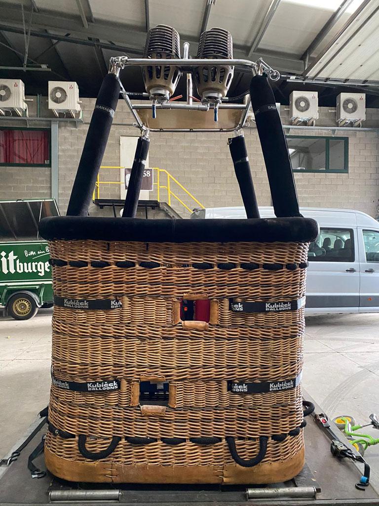 Ultramagic C5 basket with Cameron Stratus double burner