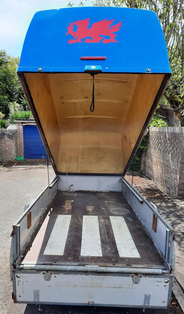 3.0m single axle Westfalia trailer