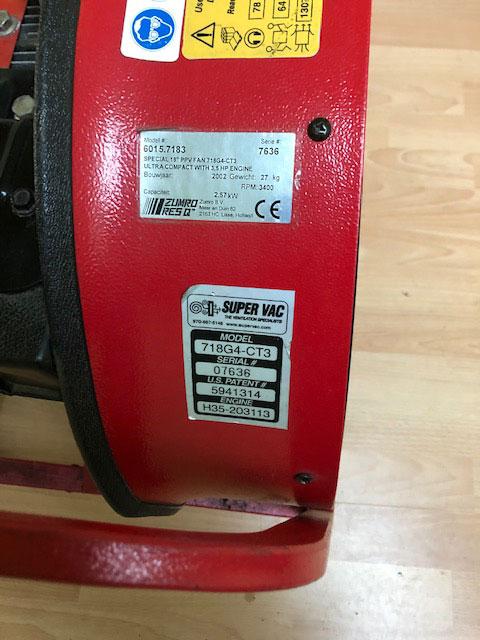 3.5 HP inflation fan