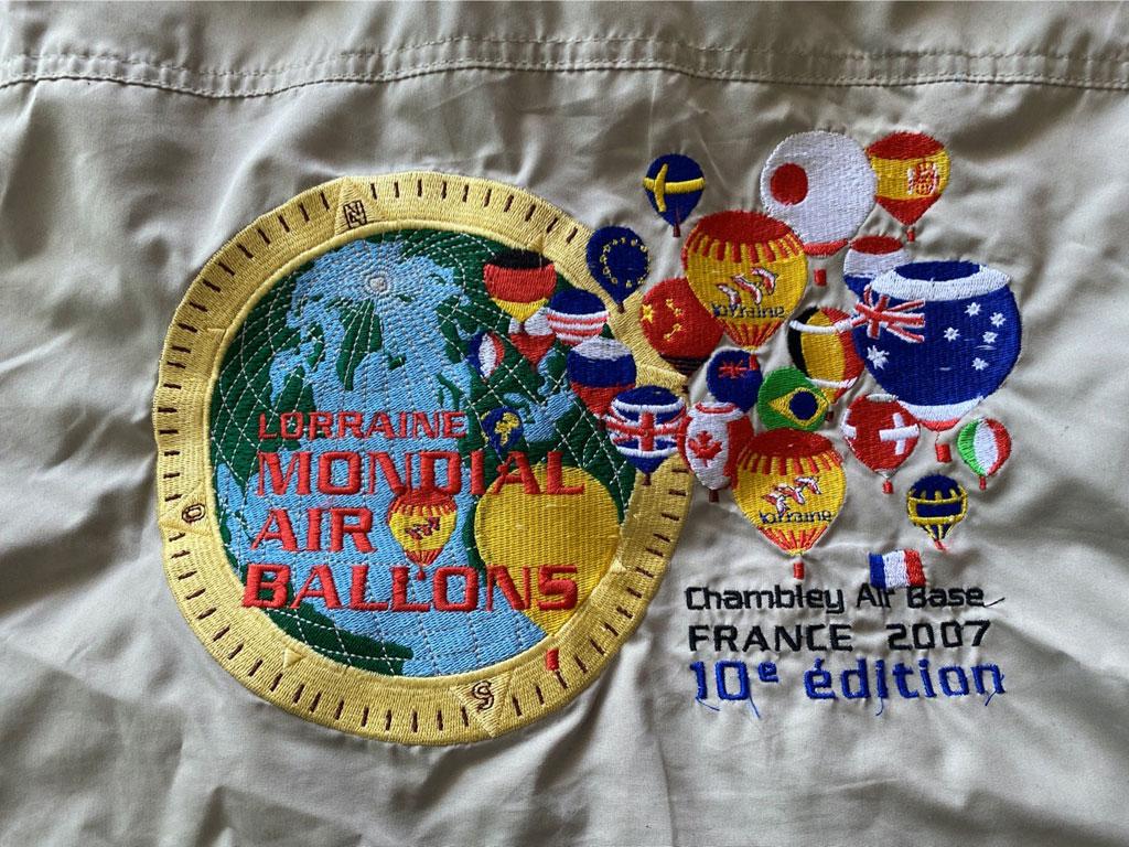 Lorraine Mondial Air Ballons pilot jacket