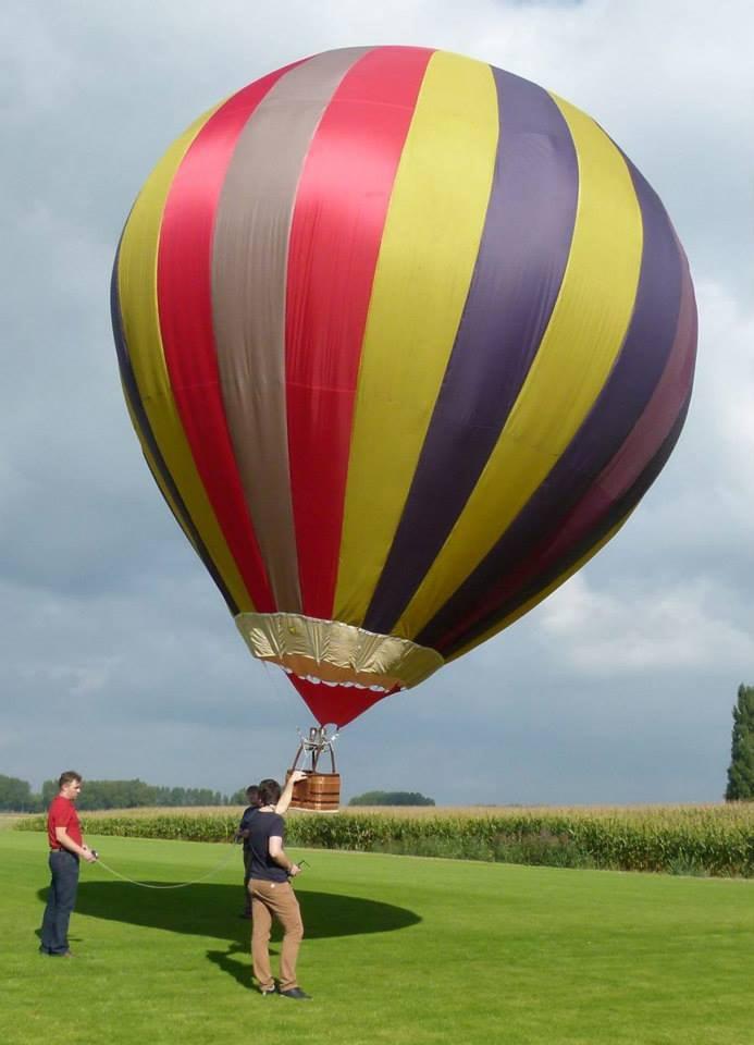 90m3 model balloon envelope