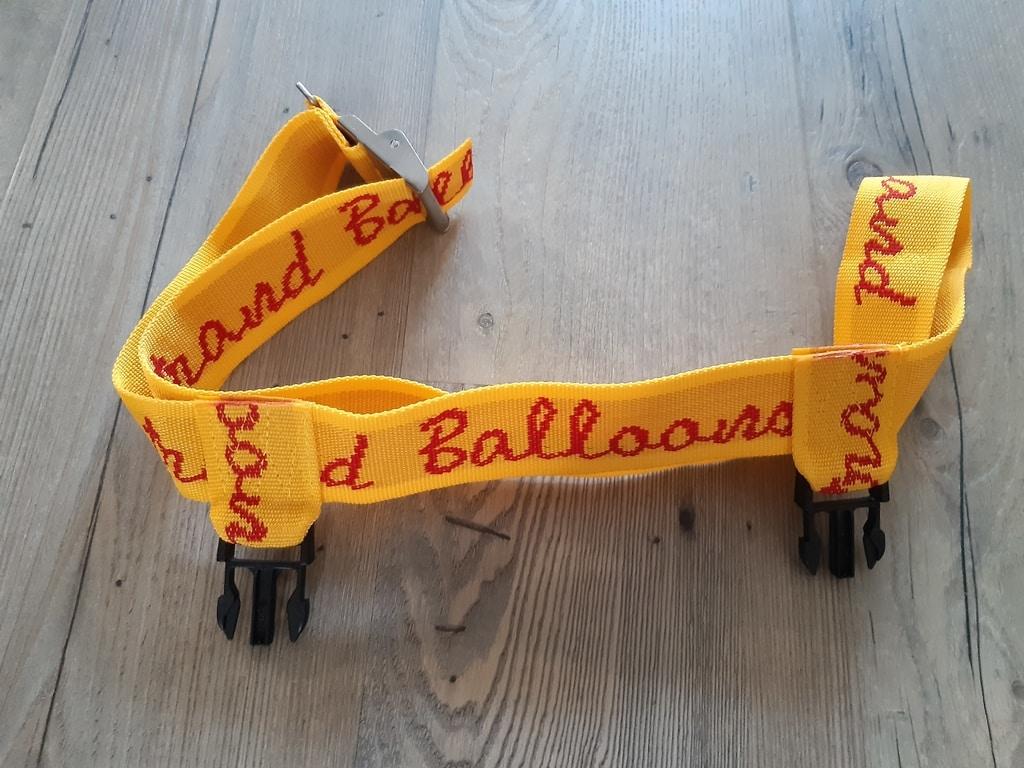 Lindstrand basket mount strap