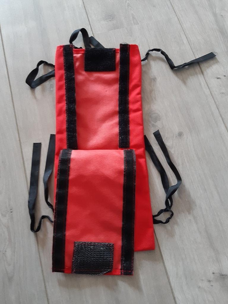 Pocket for pilot restraint harness