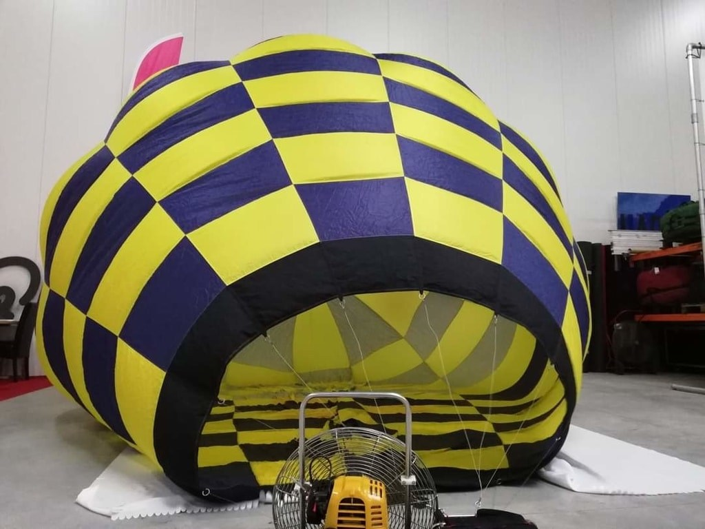 60m3 model balloon envelope
