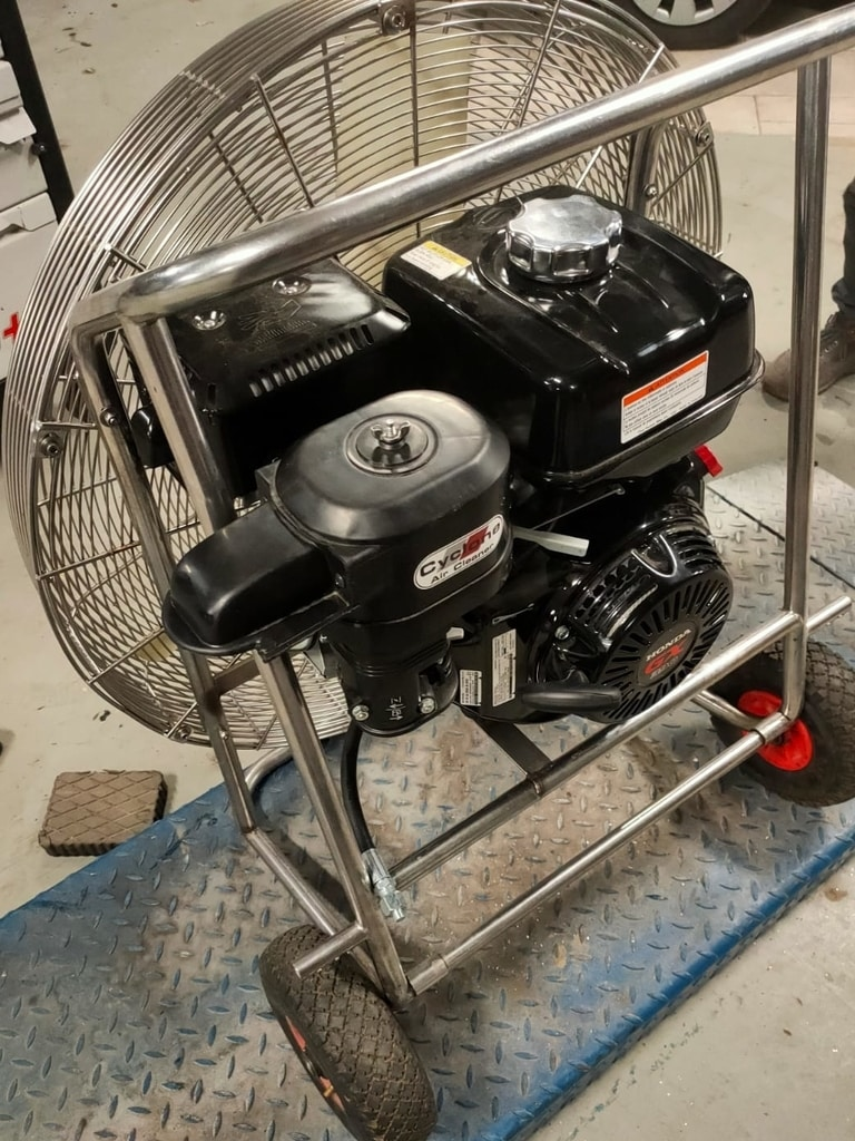 13.0 HP engine for inflation fan