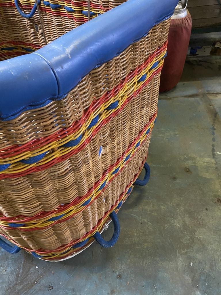 Lindstrand LBL 90/105 flat top basket