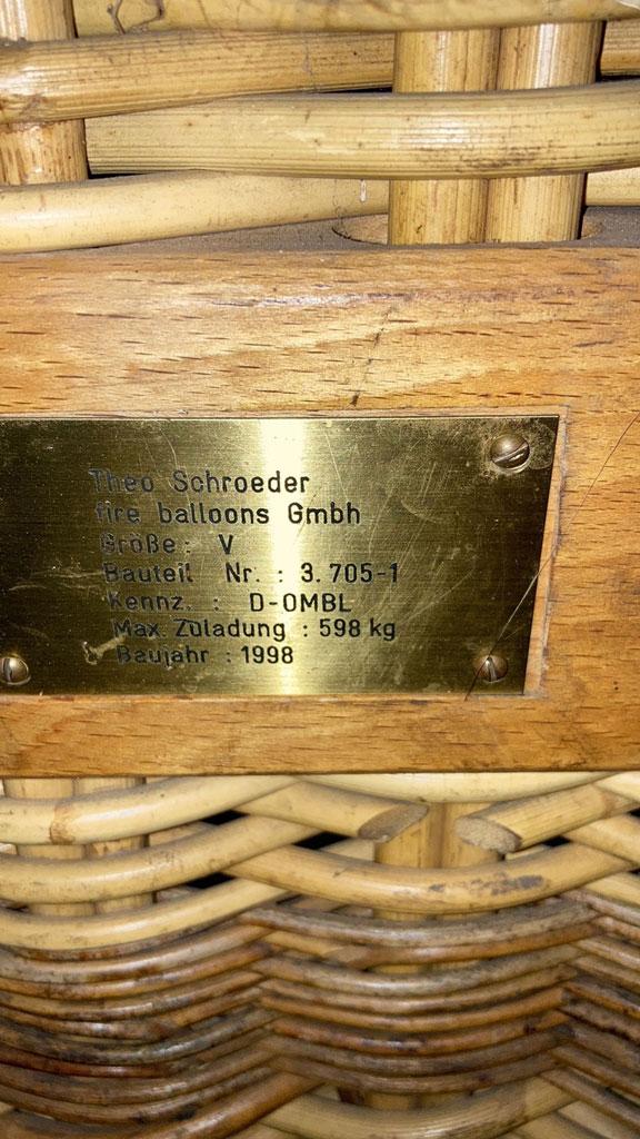 Schroeder V basket