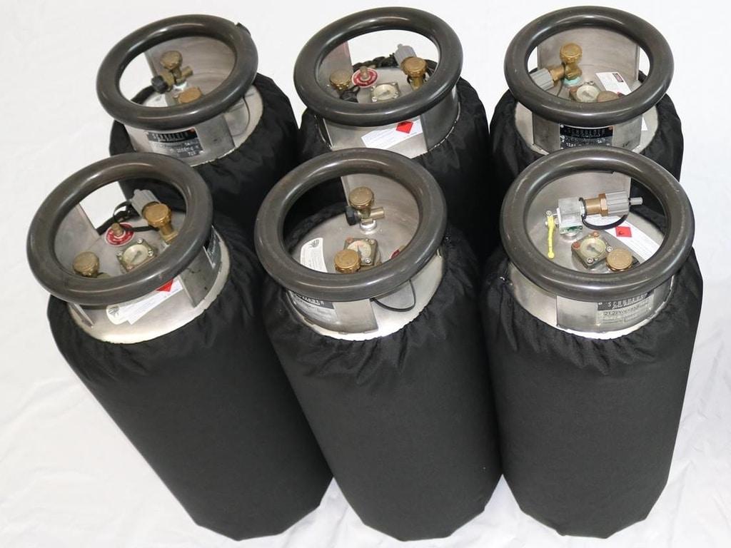 6x Schroeder VA50 cylinders