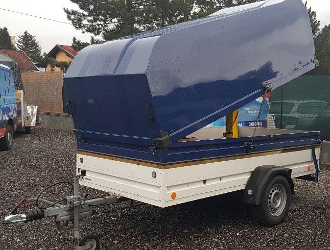 Bockmann single axle trailer