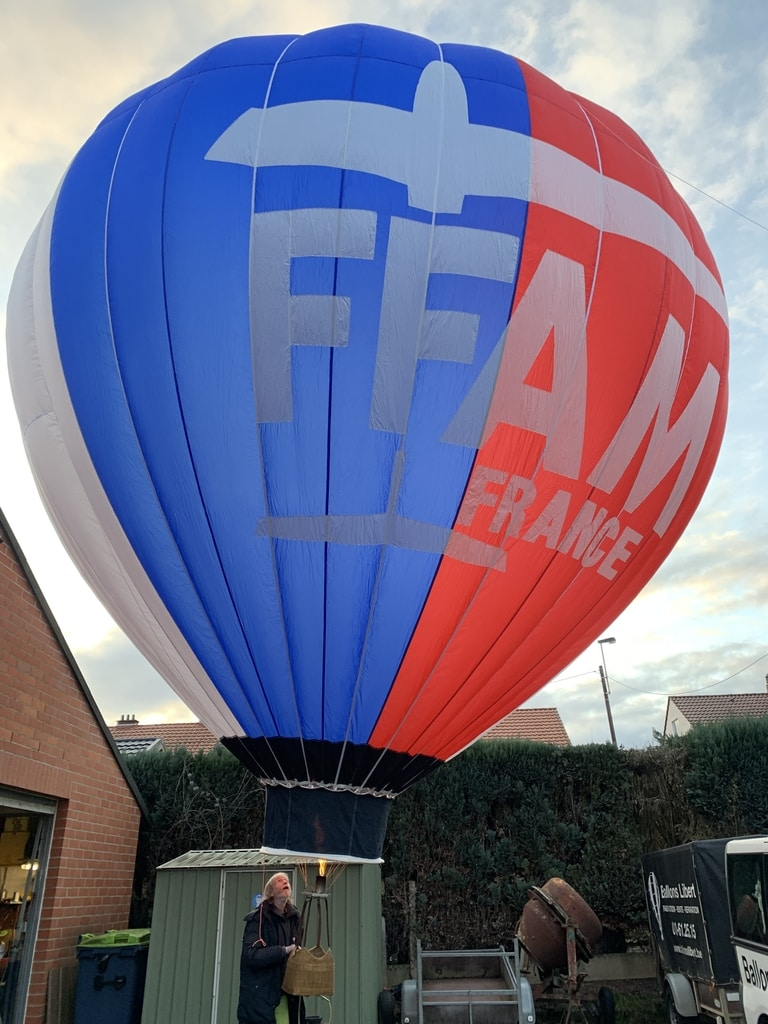 120 m3 model balloon envelope
