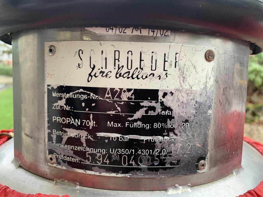 4x Schroeder VA70 cylinder