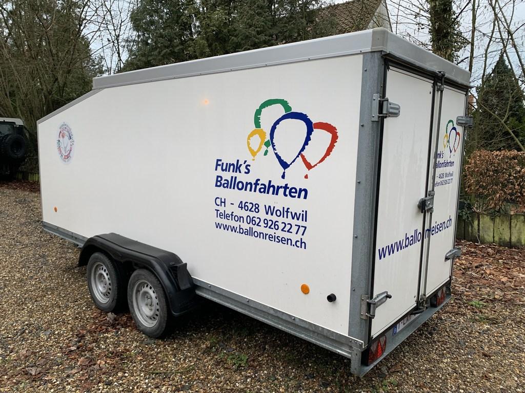 Bockmann BA2000T tandem axle trailer