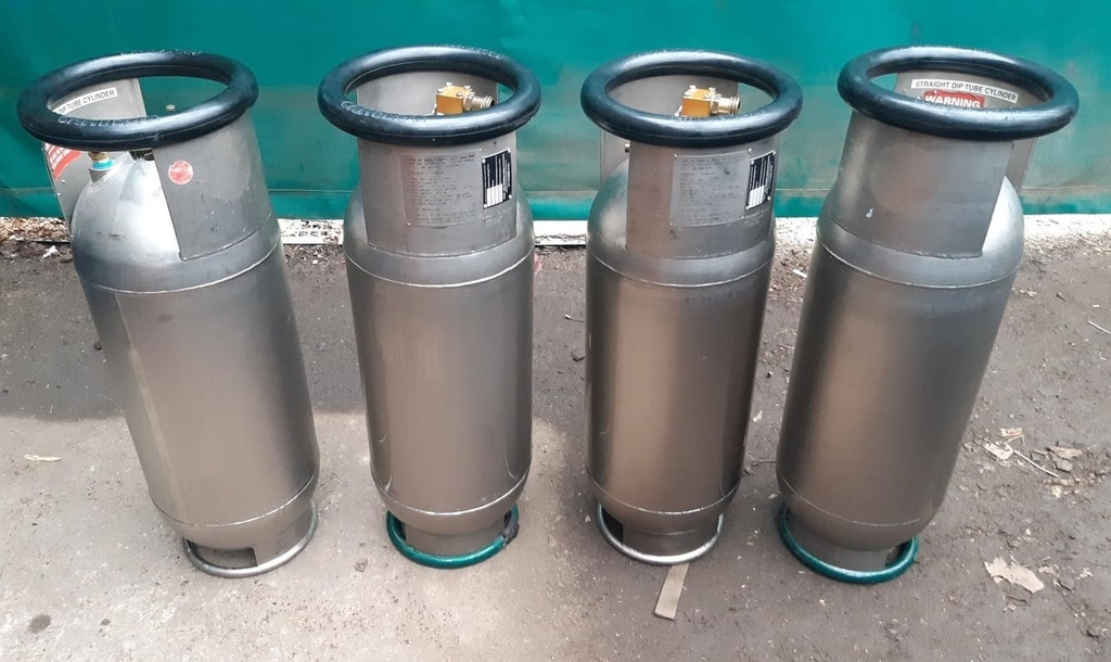 4x Cameron CB2385S titanium cylinders