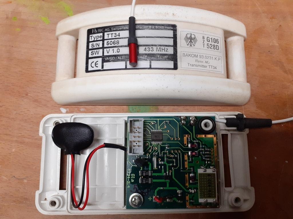 Flytec TT34 temperature sensor