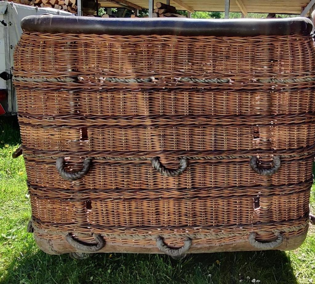 Cameron 90/105 flat top basket