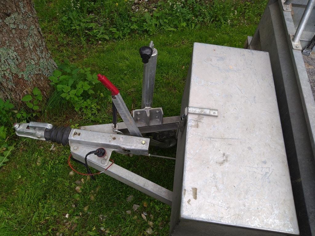 3.0m single axle open trailer