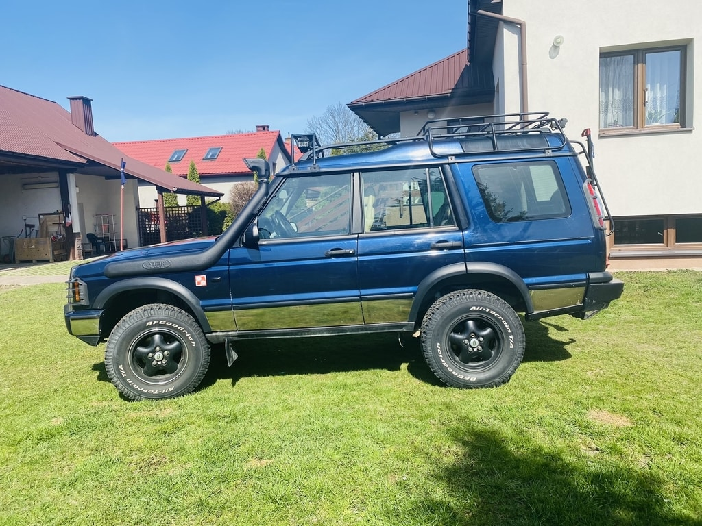 Land Rover Discovery 2 lift 4.0L V8 LPG