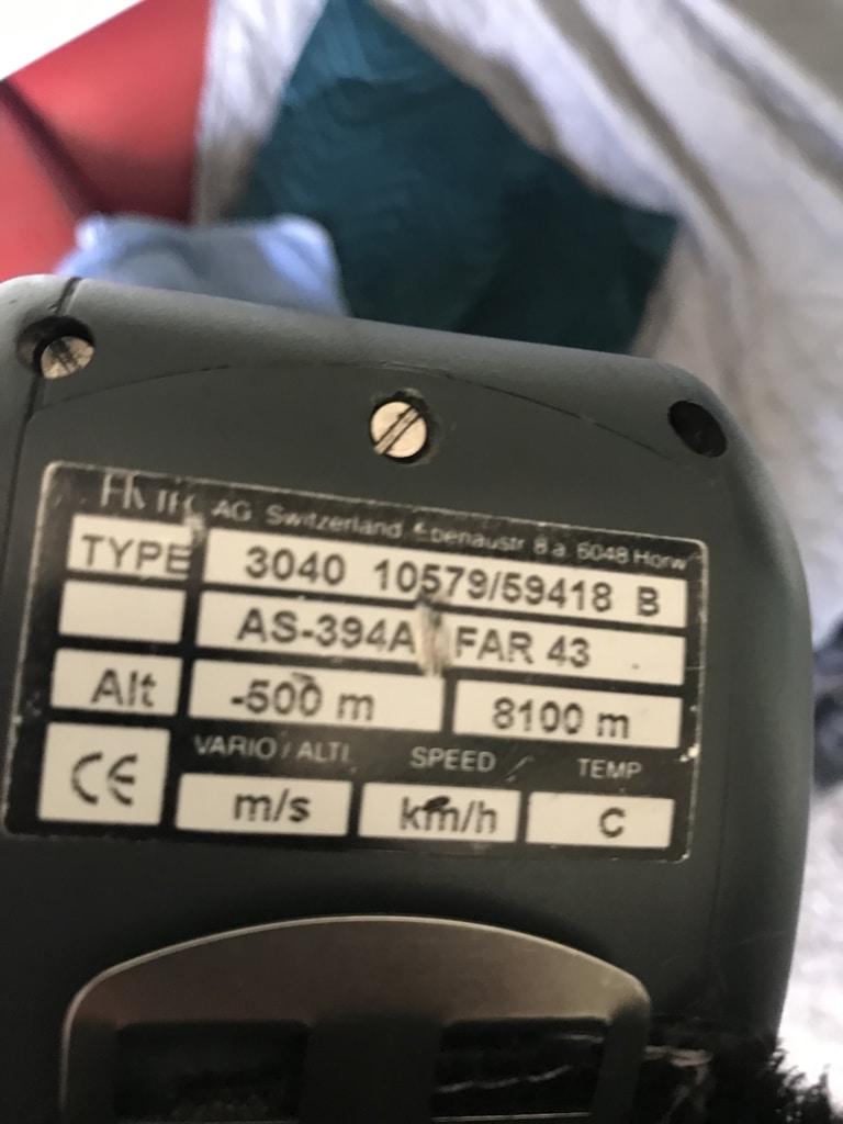 Flytec 3040 with 2x TT34 temperature transmitter