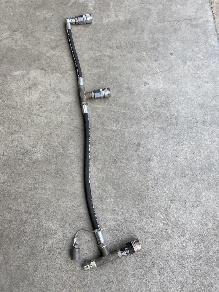 4x three-tank manifold