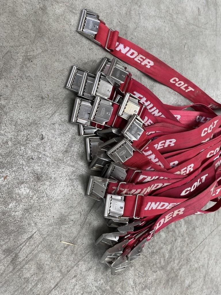 35x red Thunder & Colt cylinder straps