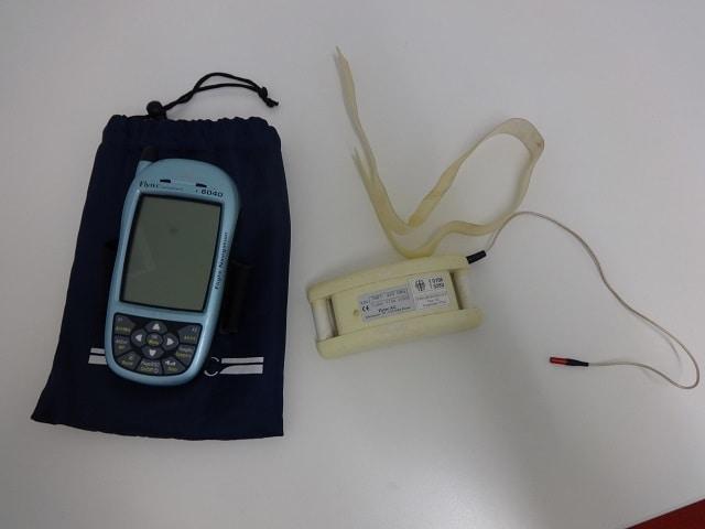 Flytec 6040 with TT34 temperature transmitter
