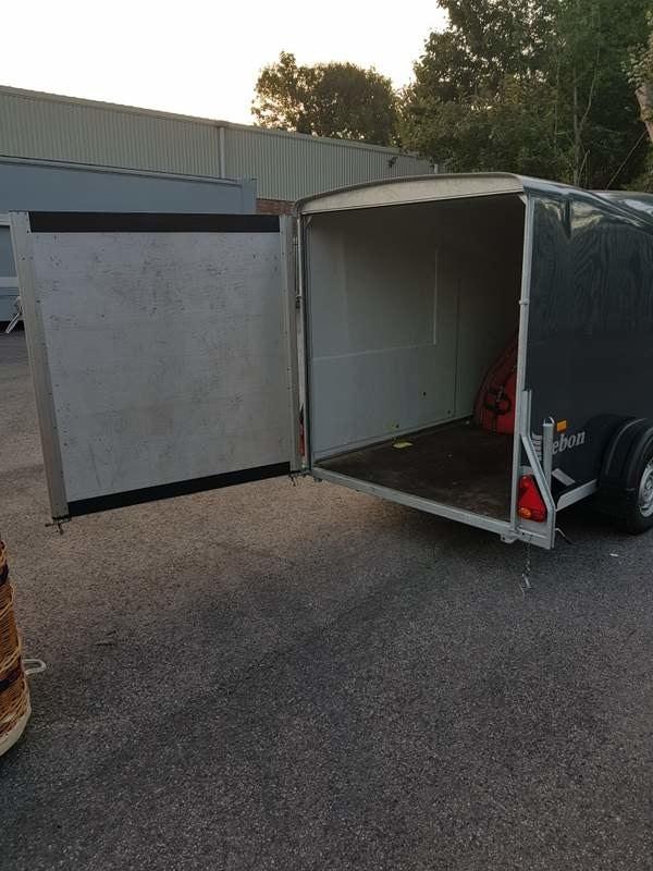 Debon single axle trailer
