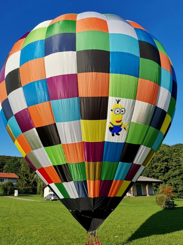 80m3 model balloon envelope
