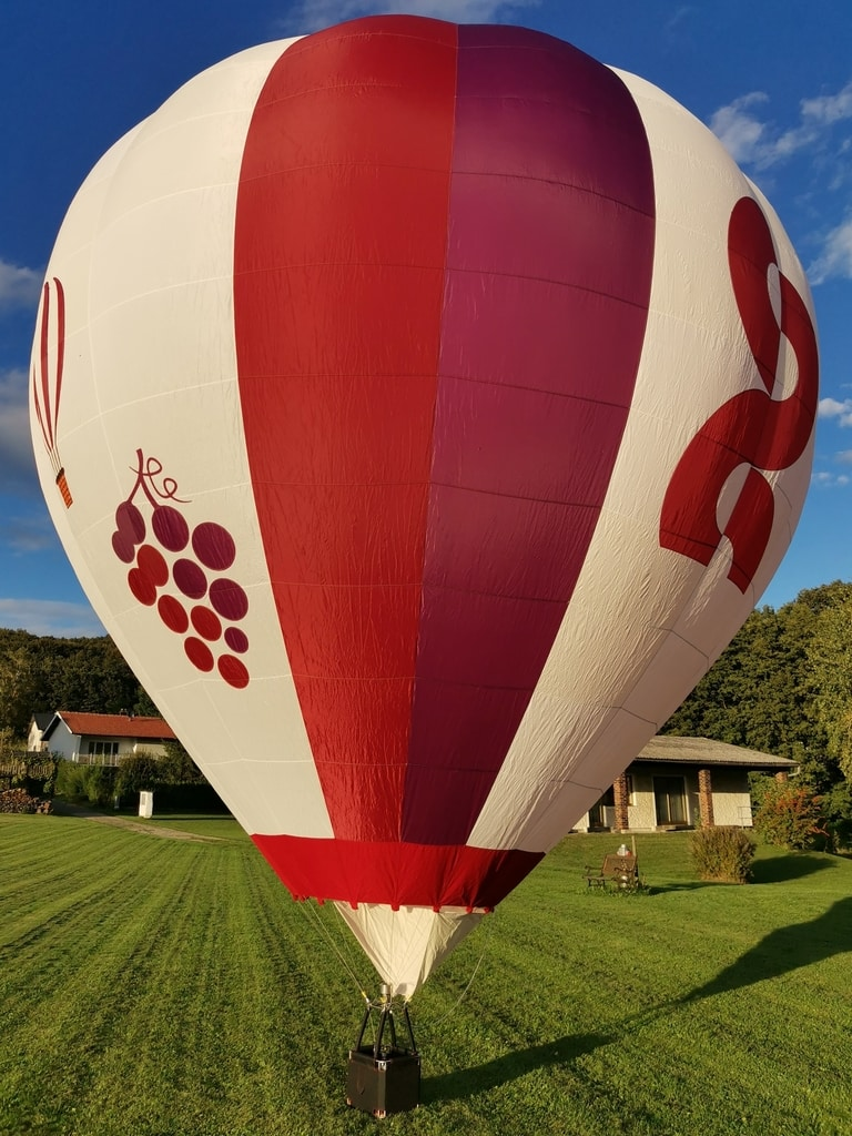 Complete 70m3 model balloon system